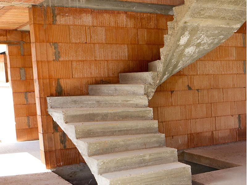 Soci t ma tre d 39 oeuvre bordeaux - Escalier tournant en beton ...